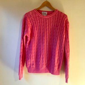Hot Pink Lily Pulitzer Sweater sz L